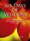 365 Days of Wisdom Daily Messages To Inspire You Through The Year by Dadi Janki eBook